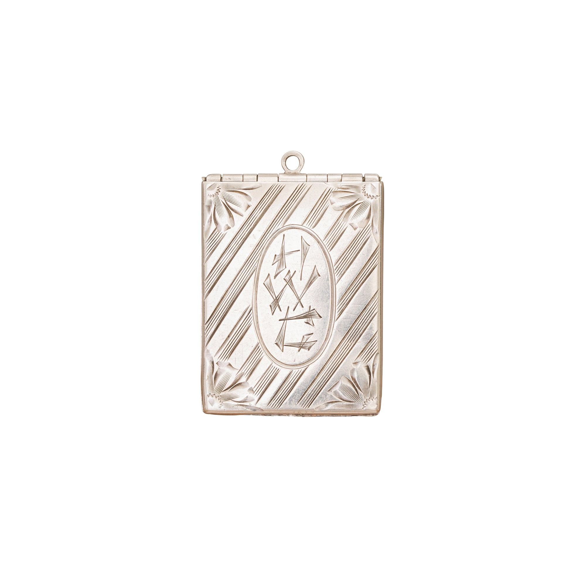 Sterling Silver Locket - Broken English Jewelry