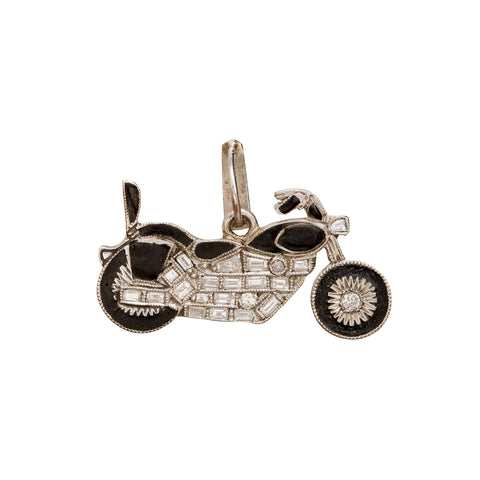 Motor Bike Charm - Vintage Jewelry - Pendants & Charms | Broken English Jewelry