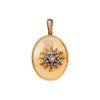 Gold & Silver Star Locket - Antique & Vintage Jewelry - Charms & Pendants | Broken English Jewelry