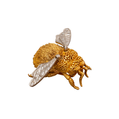 Tiffany & Co Bumblebee Brooch - Antique & Vintage Jewelry - Charms & Pendants | Broken English Jewelry