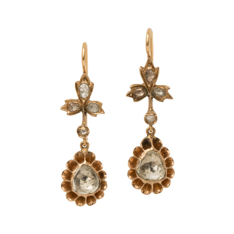 Diamond Earrings from Broken English Jewelry