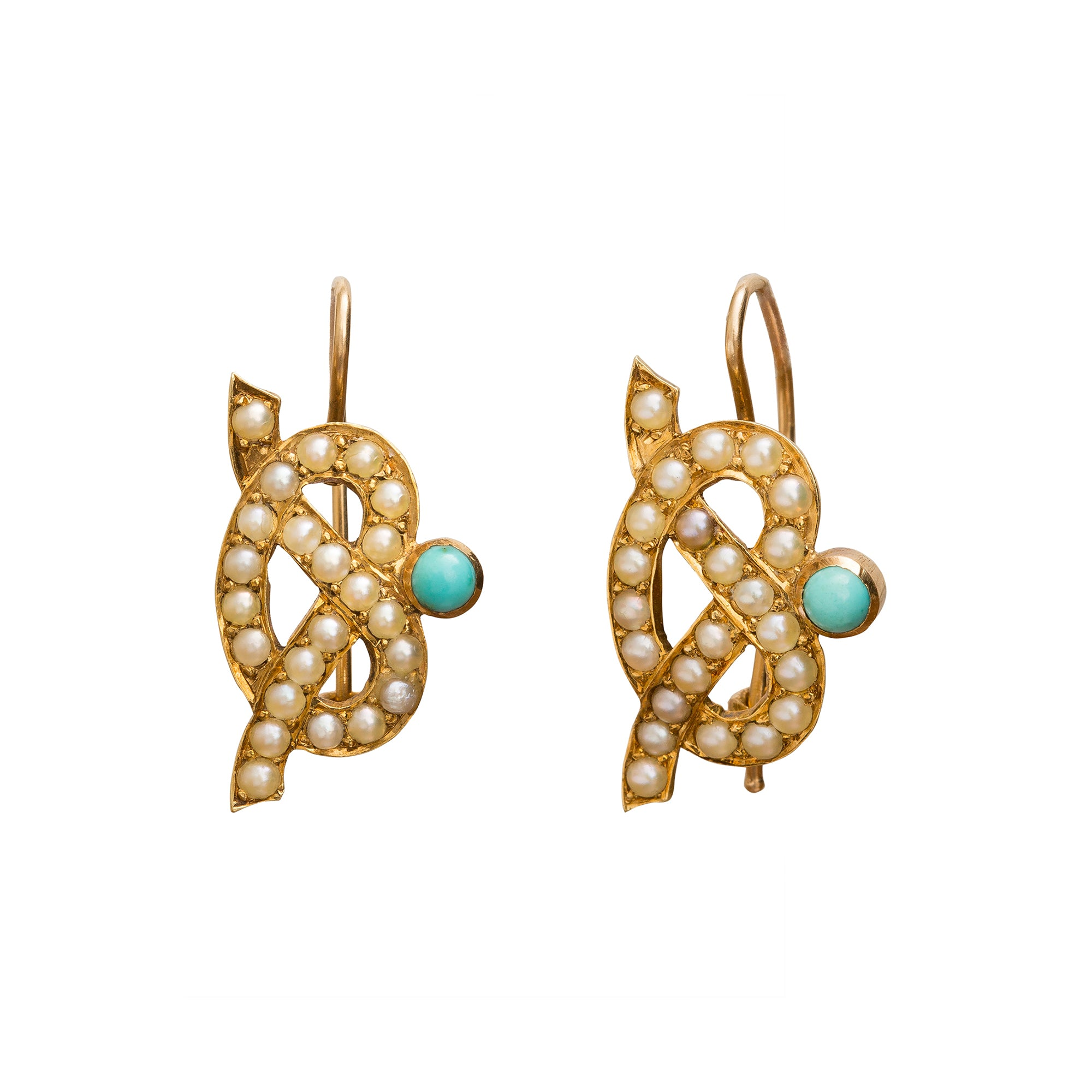 Love Knot Earrings by Vintage Jewelry for Broken English Jewelry
