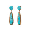 Native American Turquoise Earrings - Antique & Vintage Jewelry - Earrings | Broken English Jewelry