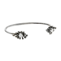 Gold Grey Diamond Nocturne Bracelet by Vram for Broken English Jewelry