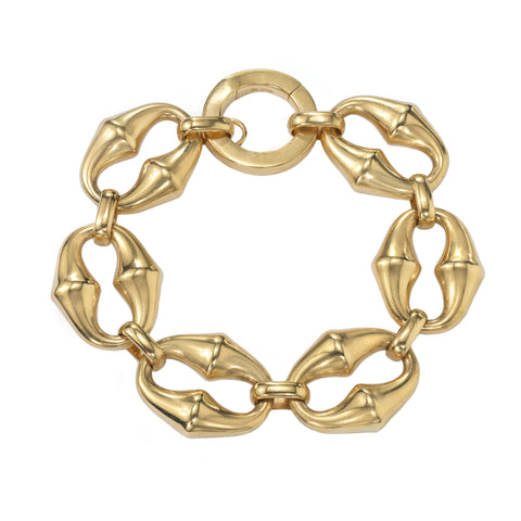Chrona Link Bracelet - Vram - Bracelet | Broken English Jewelry
