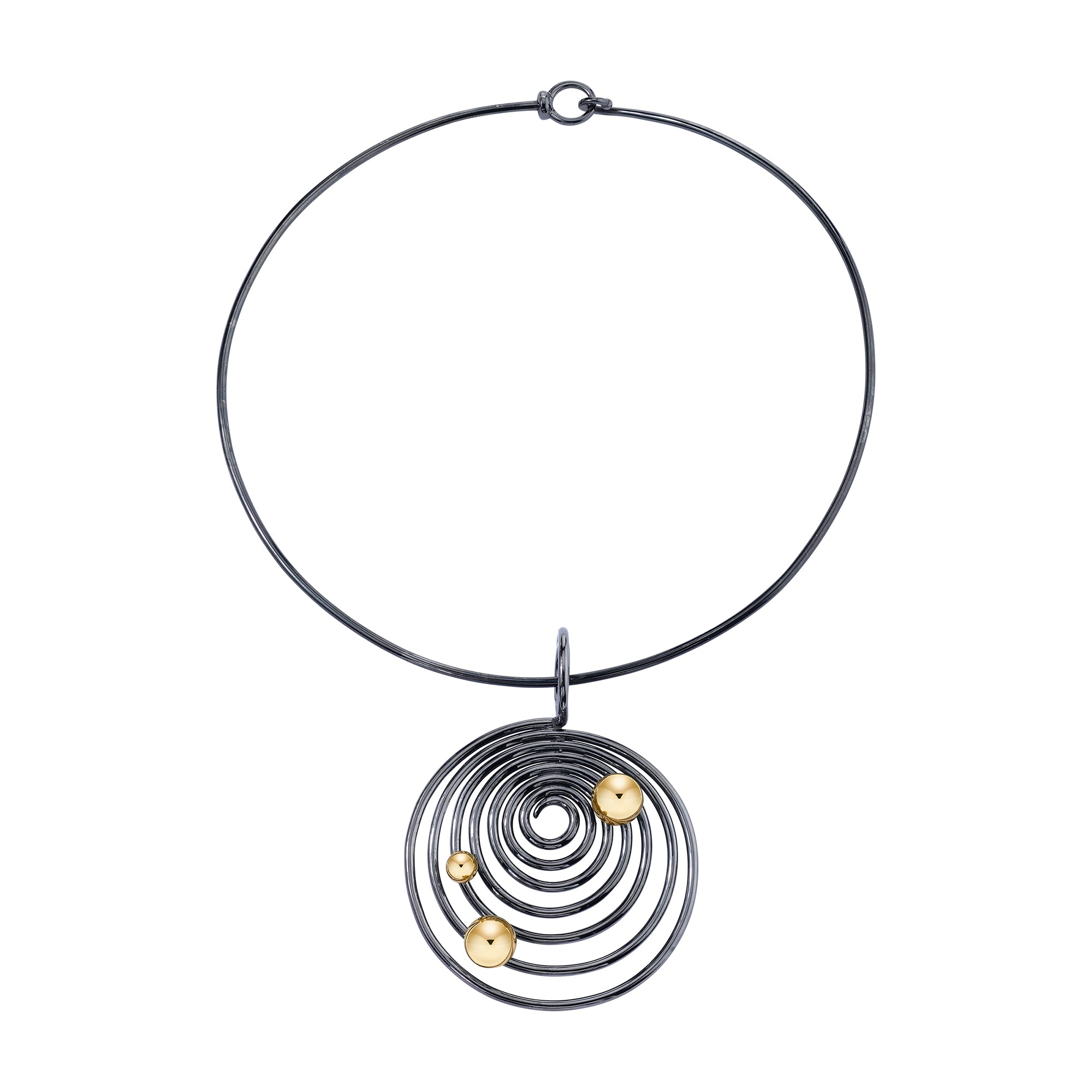 Eon Helics Necklace by VRAM for Broken English Jewelry