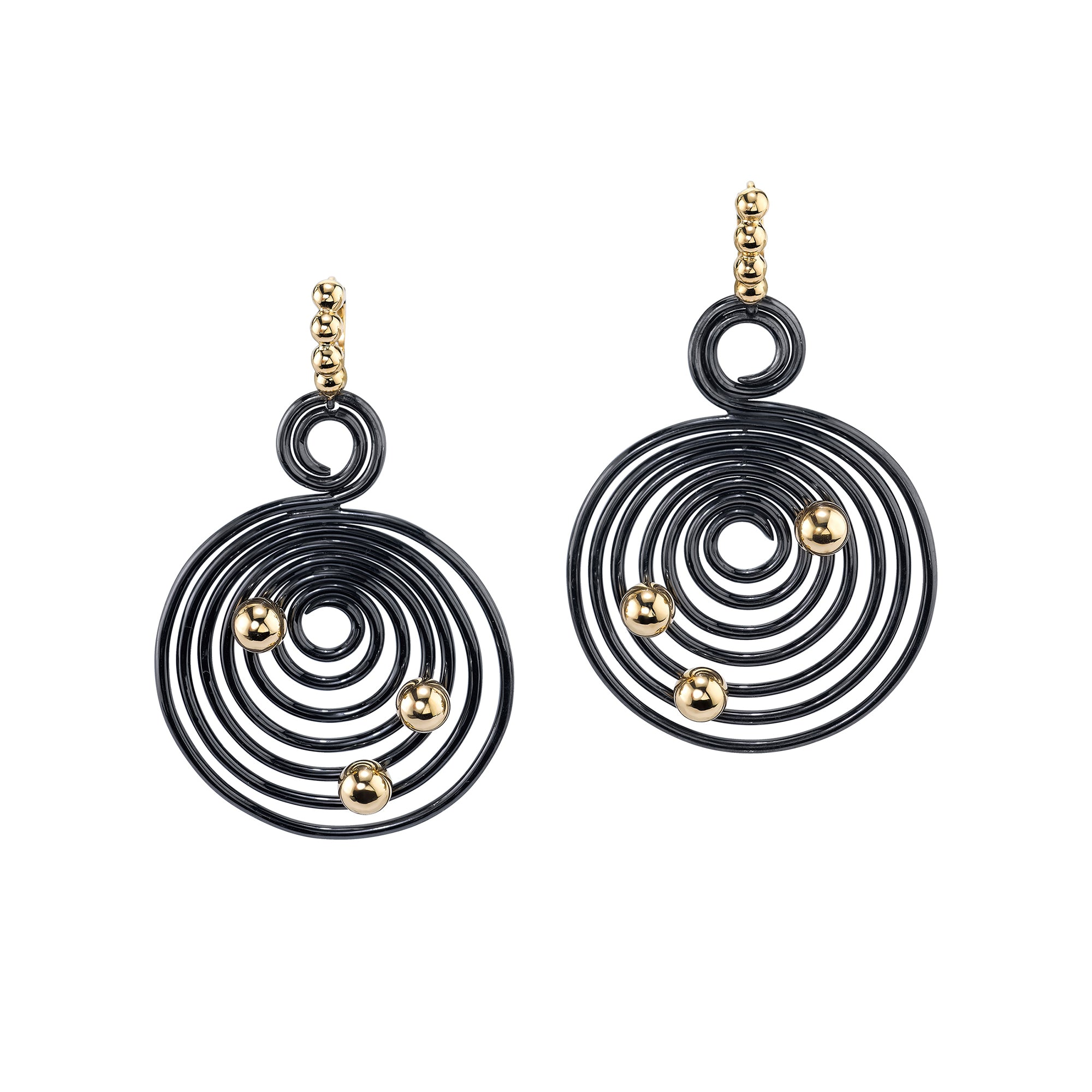 Eon Helics Earrings by VRAM for Broken English Jewelry