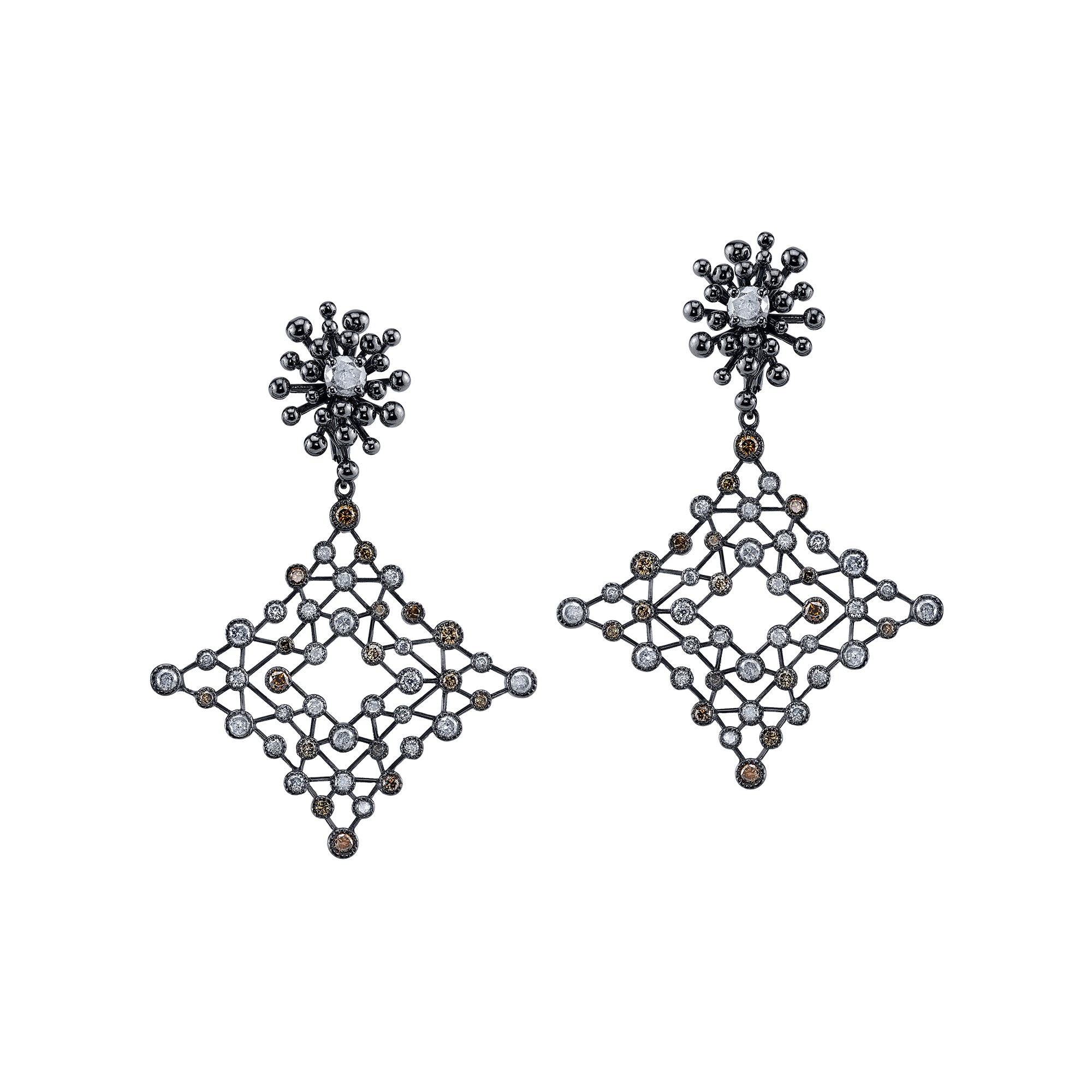 Small Nocturne Earrings by VRAM for Broken English Jewelry
