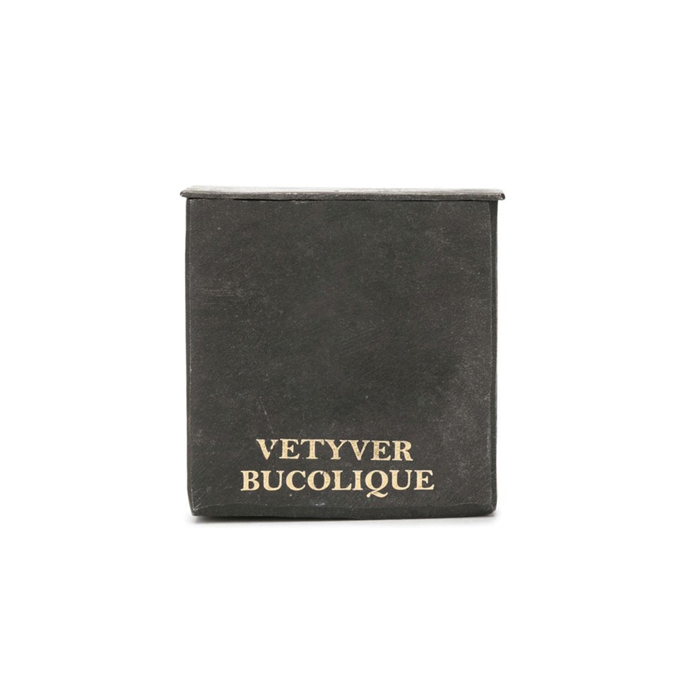Small Black Block Candle - Vetyver Bucolique