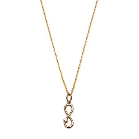 Infinity Pendant Necklace by With Love Darling for Broken English Jewelry