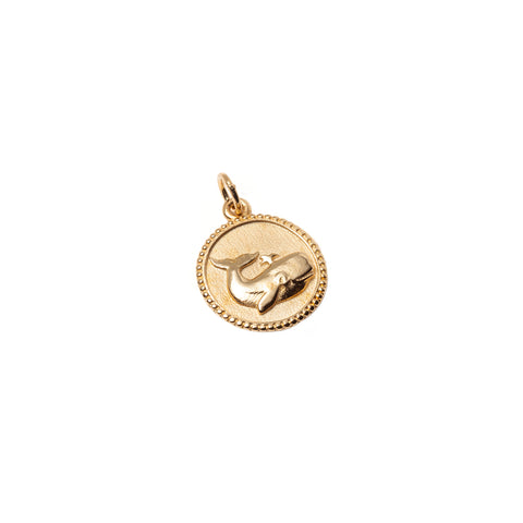 Whale Medallion Necklace - With Love Darling - Necklaces | Broken English Jewelry