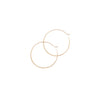 Melissa Joy Manning Round Hoops - Gold (L) - Necklaces - Broken English Jewelry