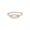 Xiao Wang Bridal Sun & Moon Engagement Ring - Rings - Broken English Jewelry