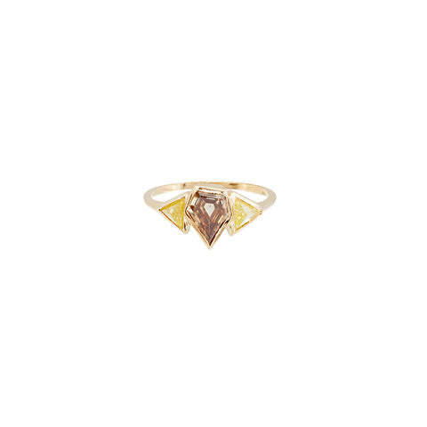 Love Arrow Engagement Ring - Xiao Wang - Rings | Broken English Jewelry