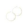 Melissa Joy Manning Round Hoops - Gold (XXL) - Necklaces - Broken English Jewelry
