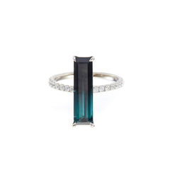 Gradient Ring by Yi Collection for Broken English Jewelry
