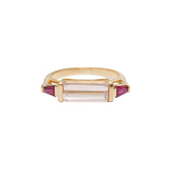 East West Ring by Yi Collection for Broken English Jewelry