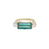 Tourmaline & Diamond East West Ring - Yi Collection - Ring | Broken English Jewelry