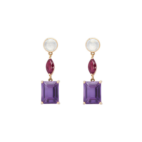 Beijing Nights Earrings by Yi Collection for Broken English Jewelry