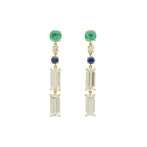 Shanghai Nights Earrings - Yi Collection - Earrings | Broken English Jewelry