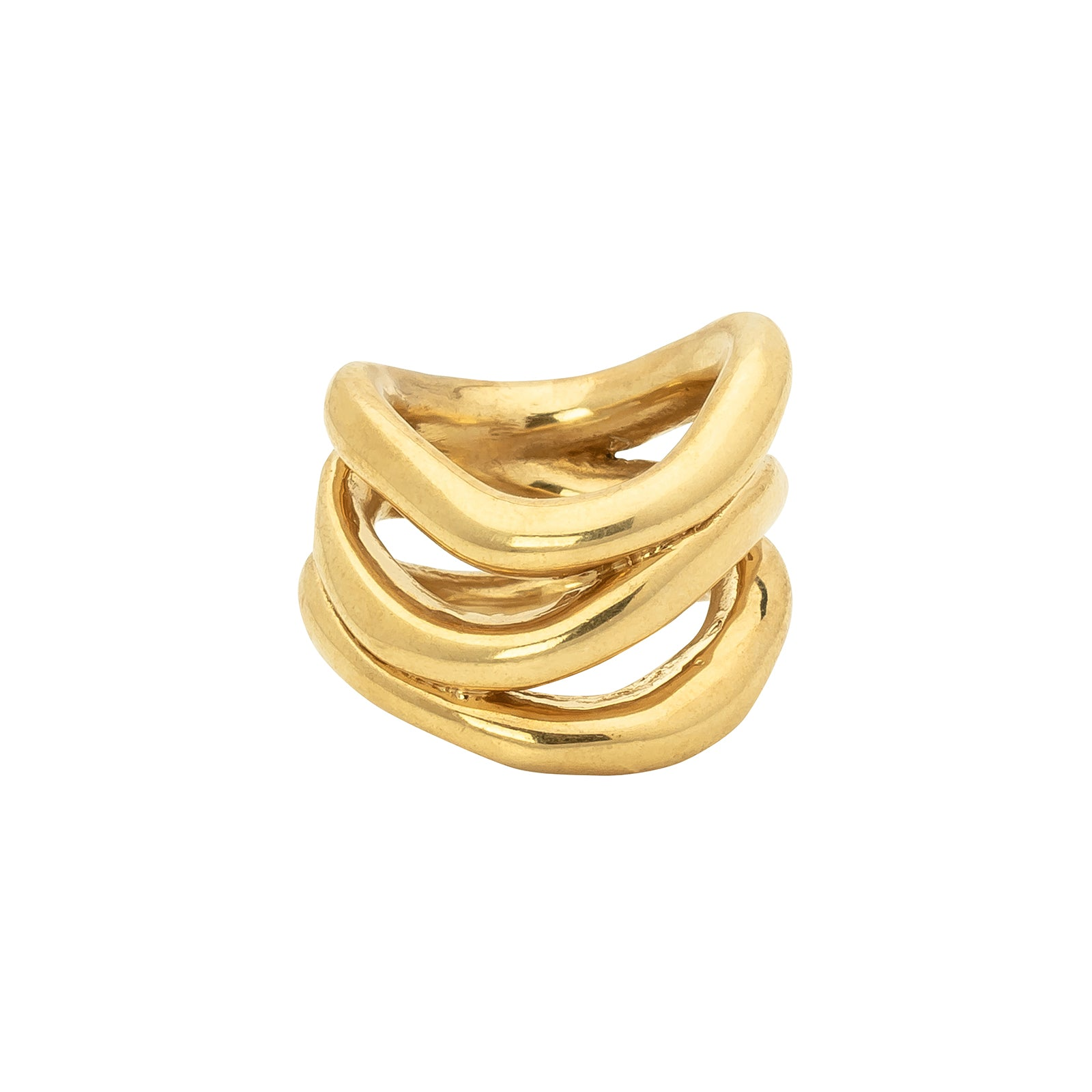 Ariana Boussard-Reifel Shishi Ring - Brass - Rings - Broken English Jewelry