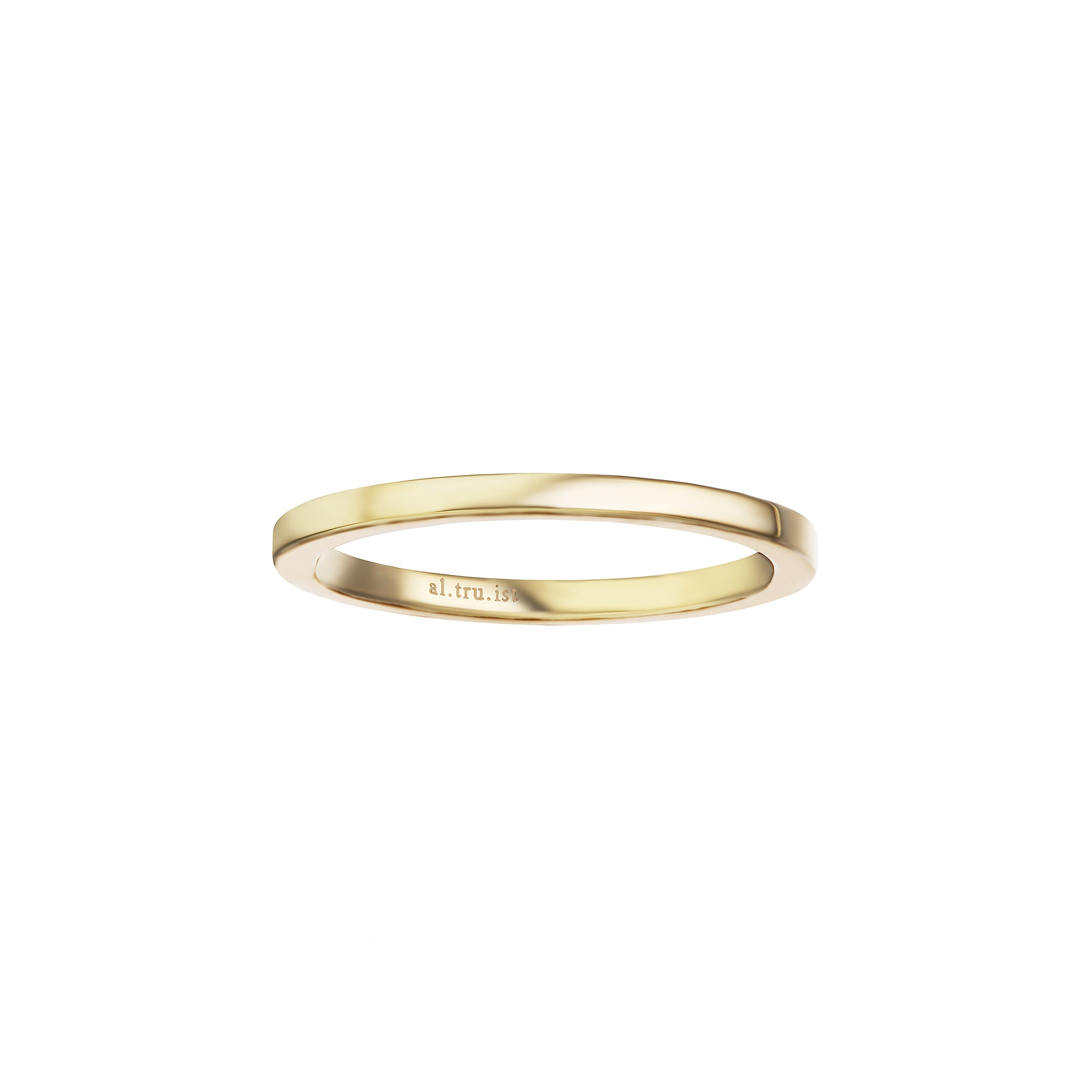 Altruist Midi Pinky Promised Ring - Gold - Rings - Broken English Jewelry