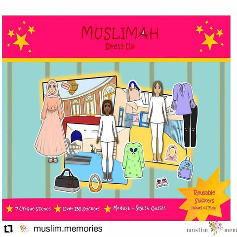 Muslimah Dress Up Activity Book
