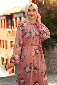 Pink Orchid Turkish Dress