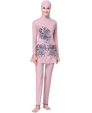 Tea Pink Burkini - Chaddors