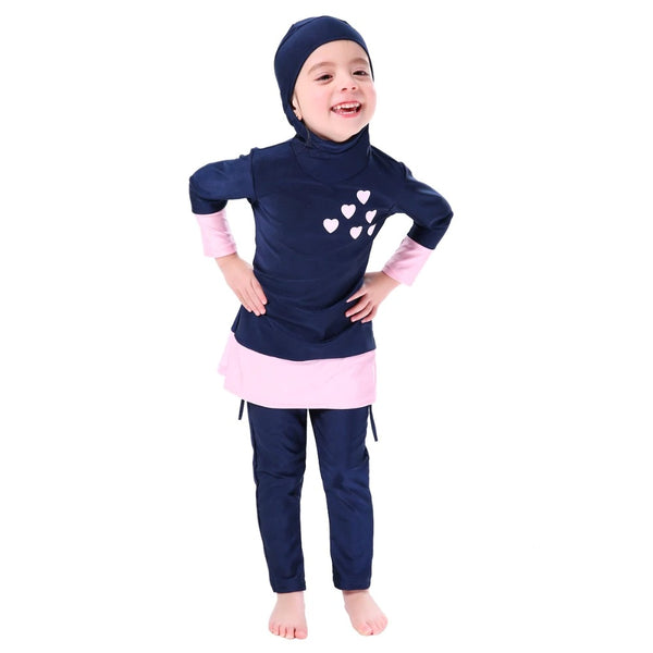Hearts Girls Burkini - Chaddors