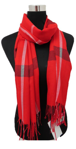 Red Burbs Scarf - Chaddors