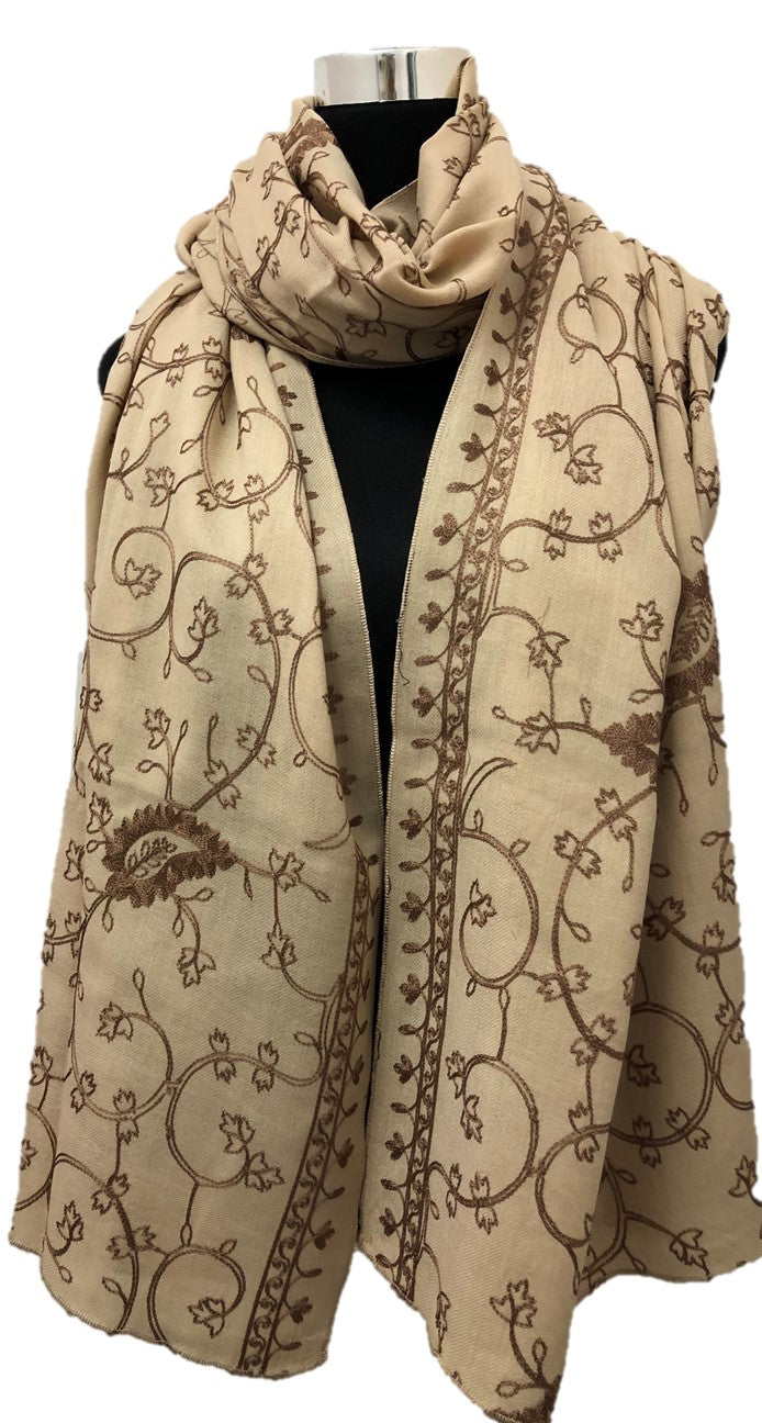 Full Embroidered Shawl - Chaddors