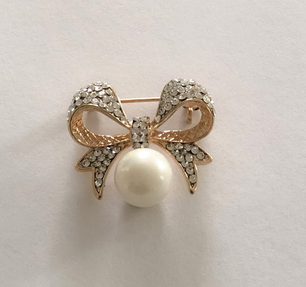 Mini Bow Brooch - Chaddors