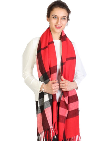 Red Cashmere Plaid - Chaddors
