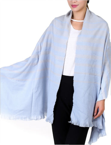 Light Blue Shawl - Chaddors