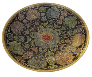 Lacquered Brass Decorative Bowl - Chaddors