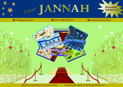 Enter Jannah Sticker Activity Book