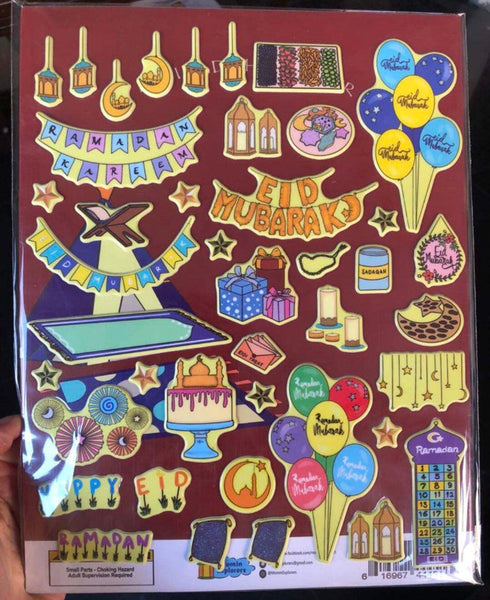 Ramadan/Eid Reusable Sticker Book