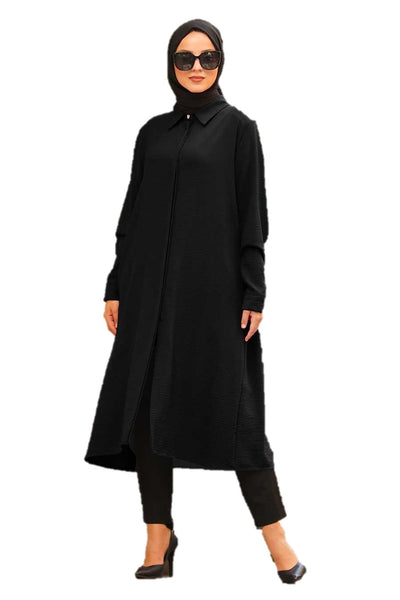 Black Long Tunic