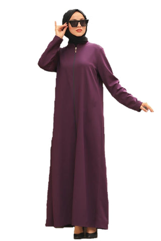Purple Turkish Abaya - Chaddors