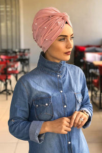 Pearls Solid Turbans - Chaddors