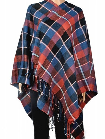 Plaid Cape - Chaddors