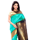 Green Kanchipuram Pure Silk & Pure Zari Saree