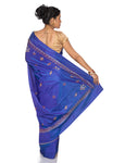 blue bridesmaid sarees