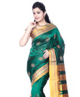 Ilkal Saree Silk Dark Green