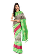 Grey pochampally silk sarees online USA, Uk, Canada