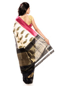 Off White Pochampally saree