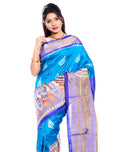 Pochampally silk saree in blue