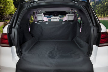 Original Pet Cargo Cover & Liner For Dogs - 80 x 52 Black, Water Resistant, Machine Washable & Nonslip Backing With Bumper Flap Protection- For Cars, Trucks & SUV