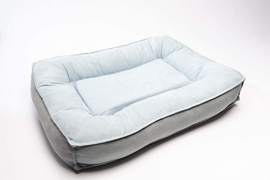 Large Comfy Classic Orthopedic Dog Bed with Ultra Soft Bolster & Memory Foam